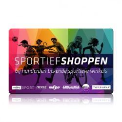 Sport&Fit cadeaukaart t.w.v. 25 euro